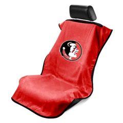 Seat Armour ® - Red Towel Seat Cover with NCAA FSU Seminoles Logo (SA100FSU)