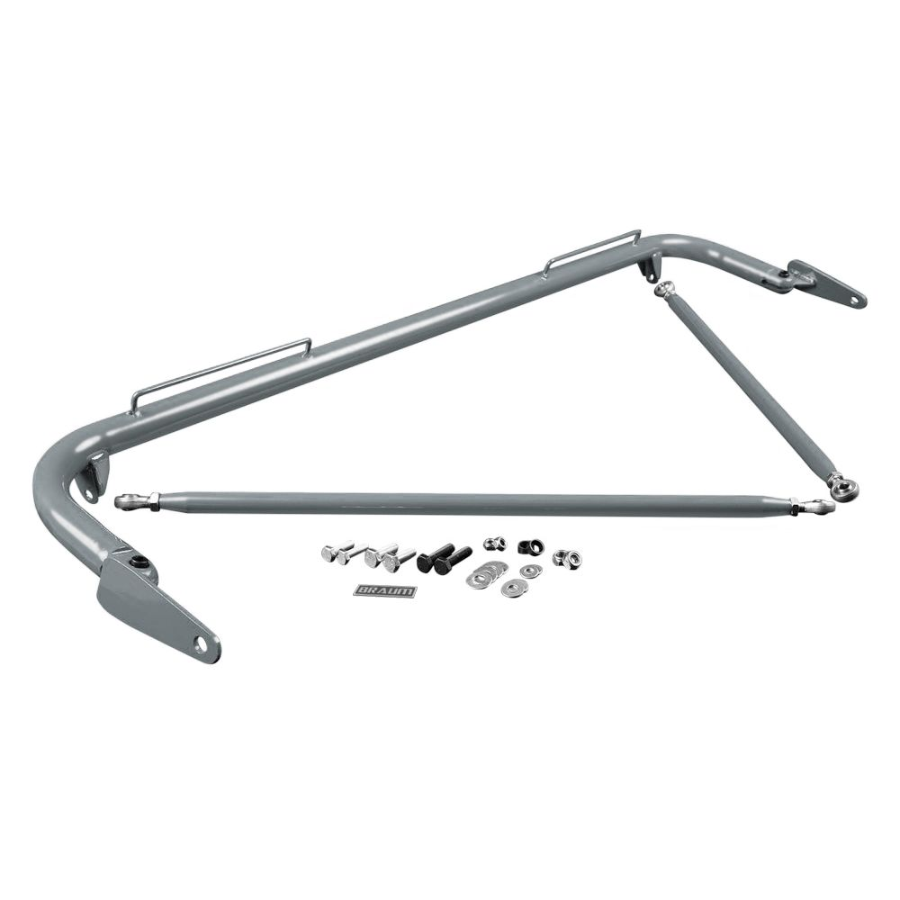 Braum ® - Space Gray 48-51 Inch Universal Racing Harness Bar Kit (BRHB-48SG)