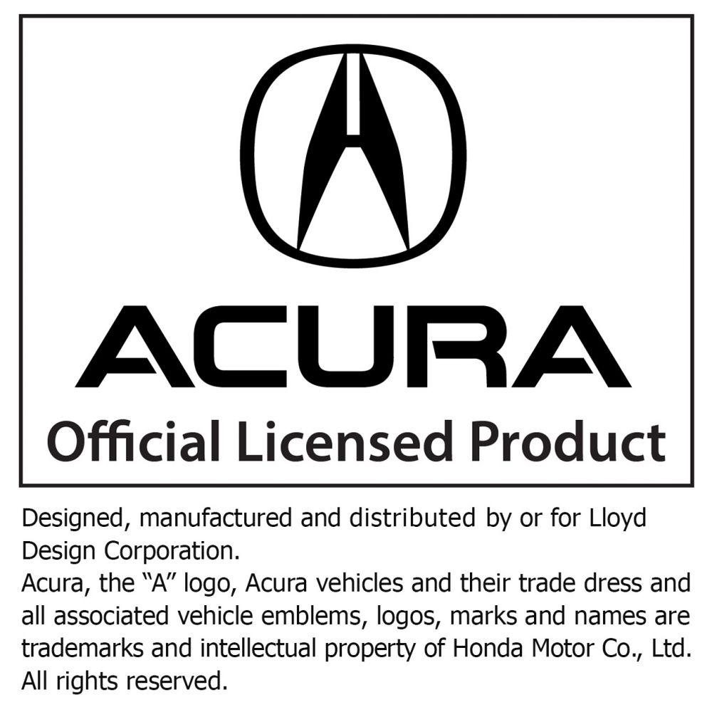 Velourtex Black 3PC Floor Mats For Acura