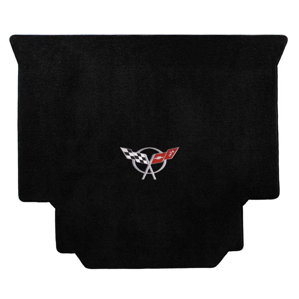 Lloyd ® - Ultimat™ Black Custom Cargo Mat With Silver C5 Flags Logo (600019)