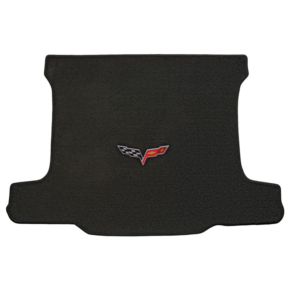 Lloyd ® - Ultimat™ Ebony Custom Cargo Mat With C6 Flags Logo (600013)