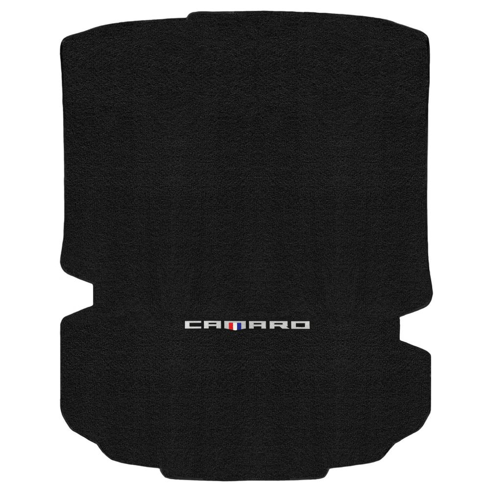 Lloyd ® - Ultimat™ Ebony Custom Trunk Mat With Silver Camaro Logo (600157)