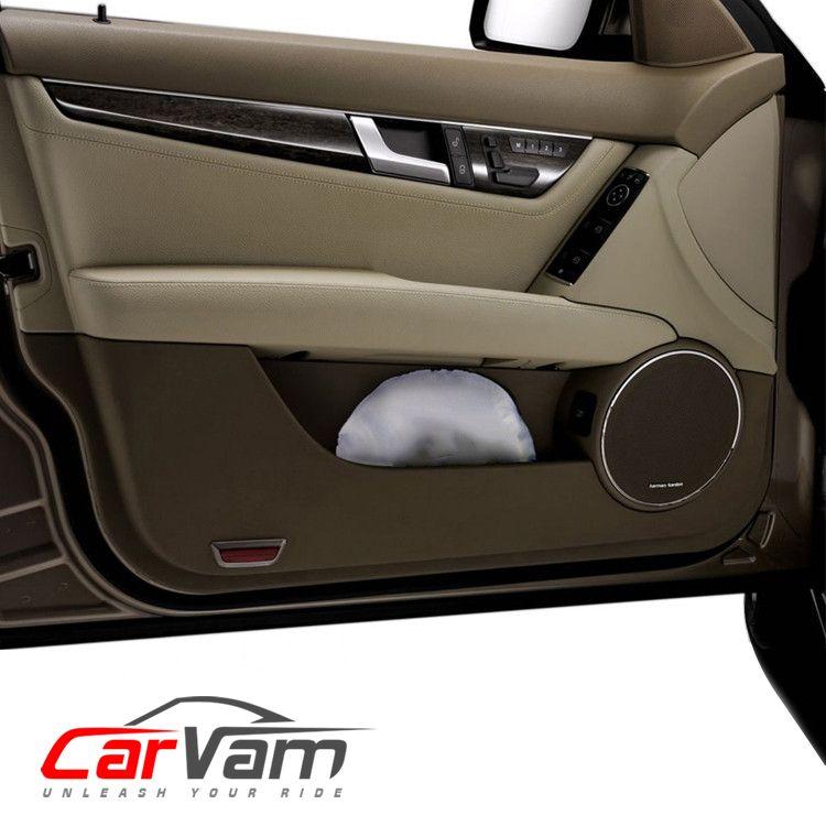 CarVam Windshield Sunshade - Ultimate Sun Shield Heat Protection & UV Blockage 210T Heavy-Duty Strong Micro-Weave Fabric