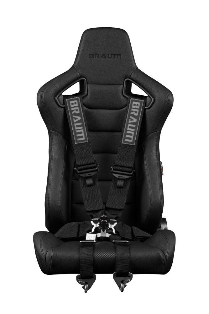 Braum ® - Black 6 Point 3 Inch FIA Racing Harness (BRH-BKF6)