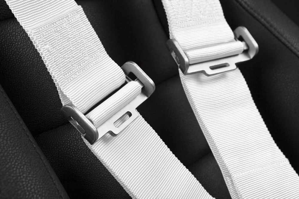 Braum White 5 Point 3 Inch SFI 16.1 Racing Harness BRH-WHS5, Additional Image 4