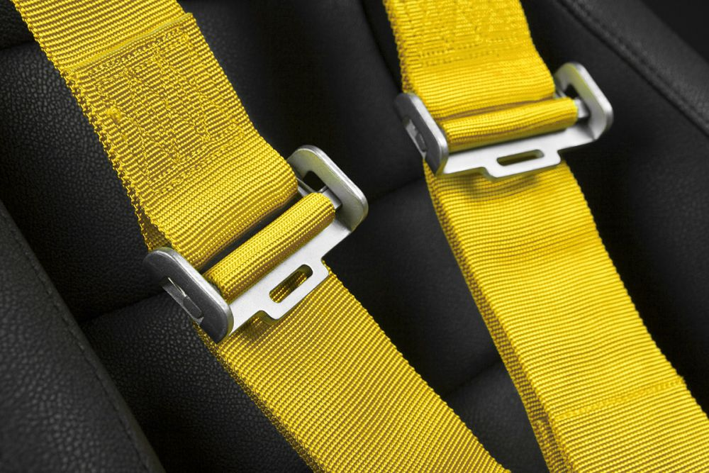 Braum Yellow 5 Point 3 Inch SFI 16.1 Racing Harness BRH-YLS5, Additional image 4
