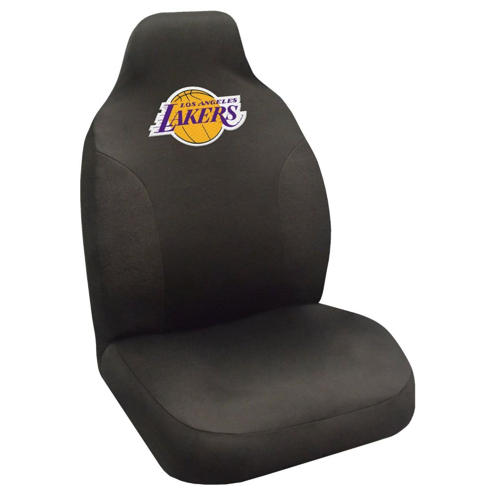Fanmats NBA Los Angeles Lakers Universal Seat Cover, On seat
