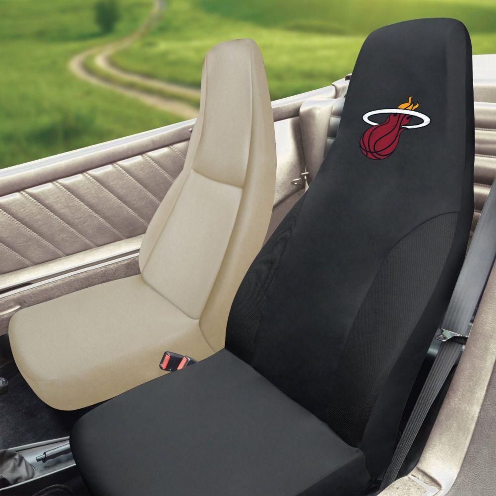 Fanmats NBA Miami Heat Universal Seat Cover, Inside Car