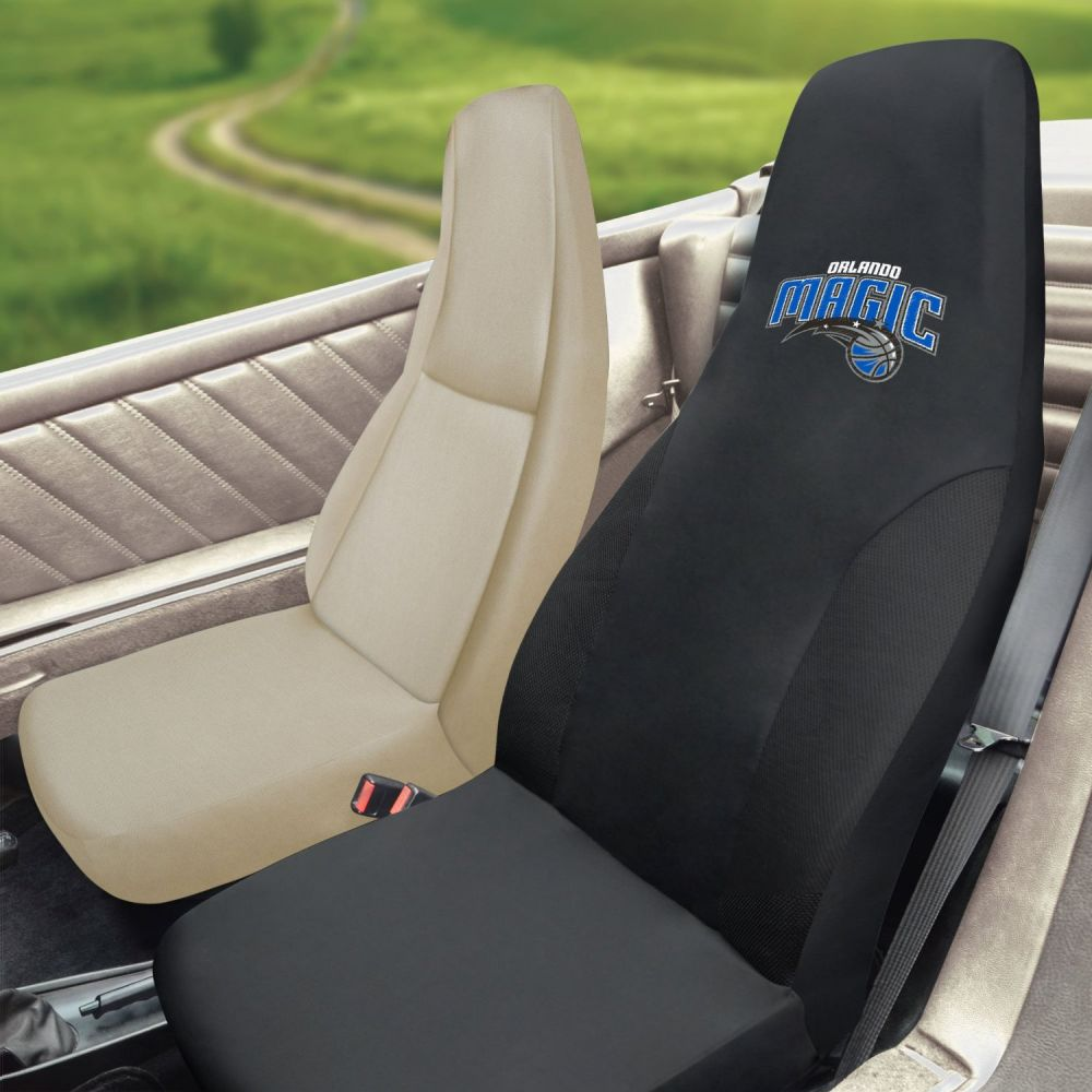 Fanmats NBA Orlando Magic Universal Seat Cover, Inside Car