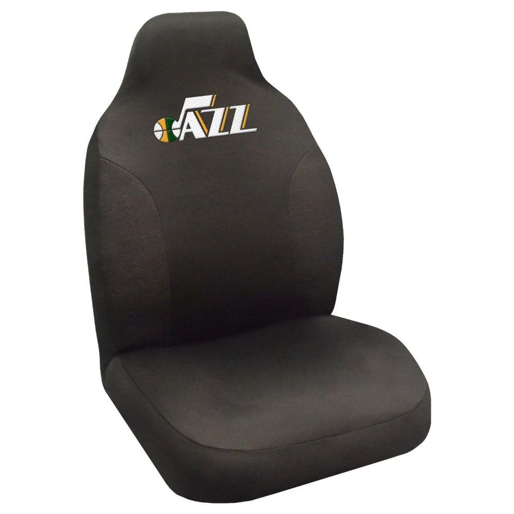 Fanmats NBA Utah Jazz Universal Seat Cover, On seat