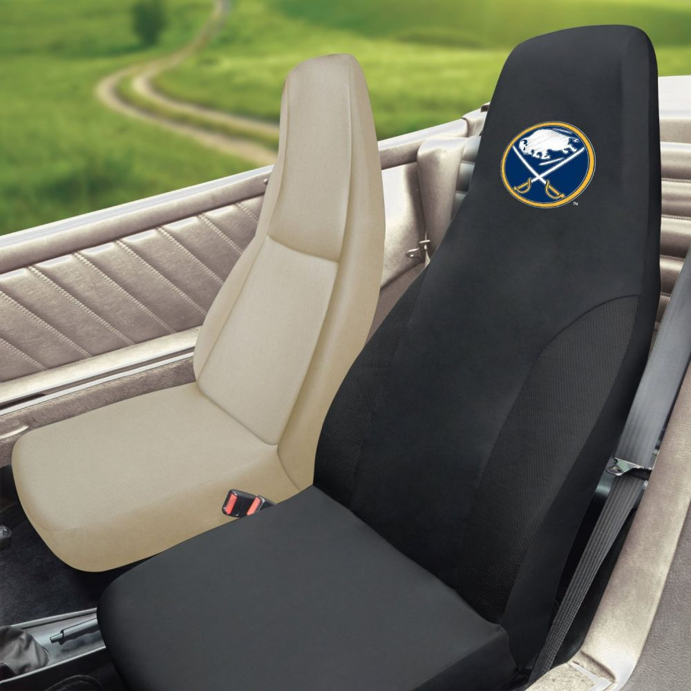 Fanmats NHL Buffalo Sabres Universal Seat Cover, Inside Car