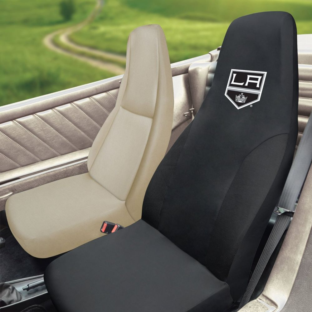 Fanmats NHL Los Angeles Kings Universal Seat Cover, Inside Car