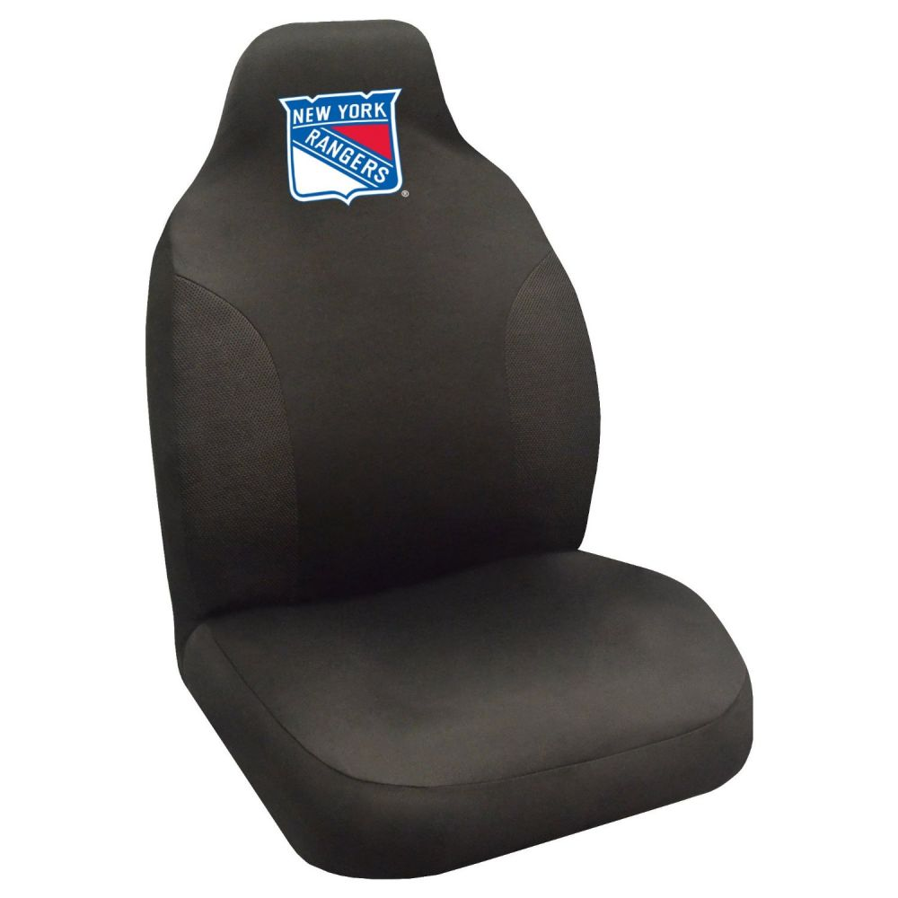 Fanmats NHL New York Rangers Universal Seat Cover, On seat