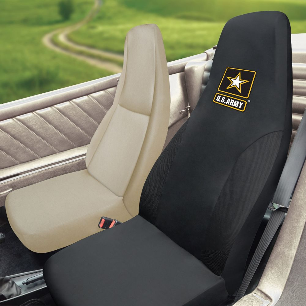 Fanmats US Army Universal Seat Cover, Inside Car
