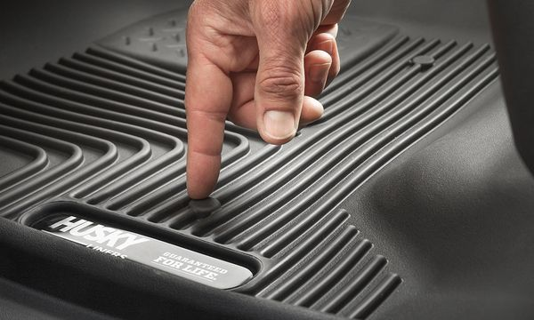 Husky Liners X-act Contour Black Custom 2nd Seat Floor Liner, Easy to install