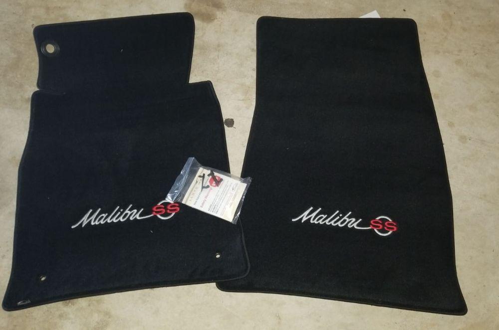 Lloyd Mats Velourtex Black Front Floor Mats For Chevrolet Malibu, Main