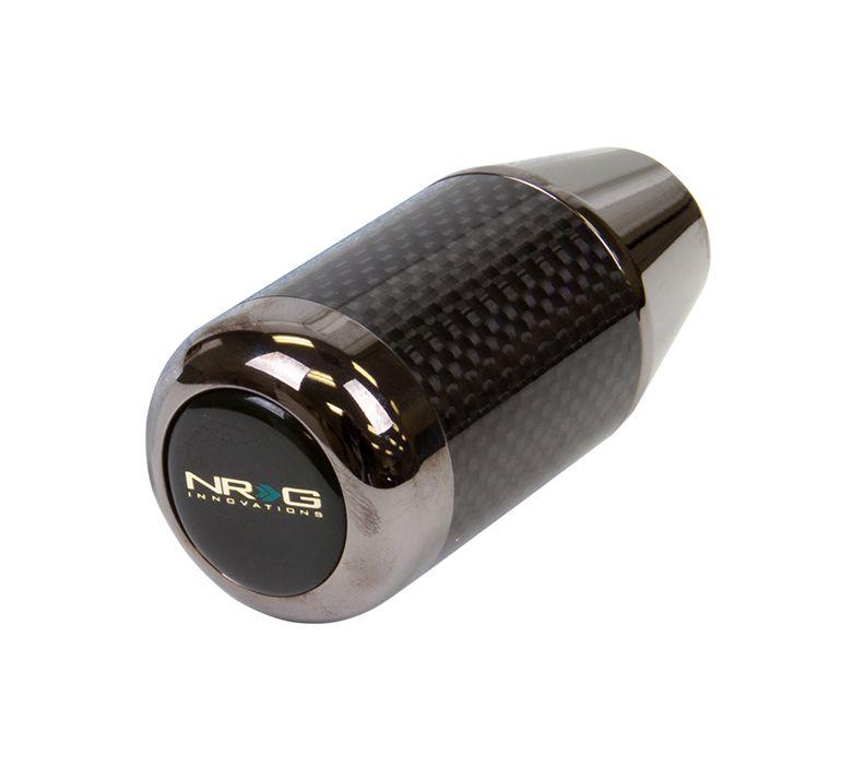 NRG ® - Universal NeoChrome and Carbon Fiber Ring Fatboy Style Shift Knob (SK-400BC/MC)