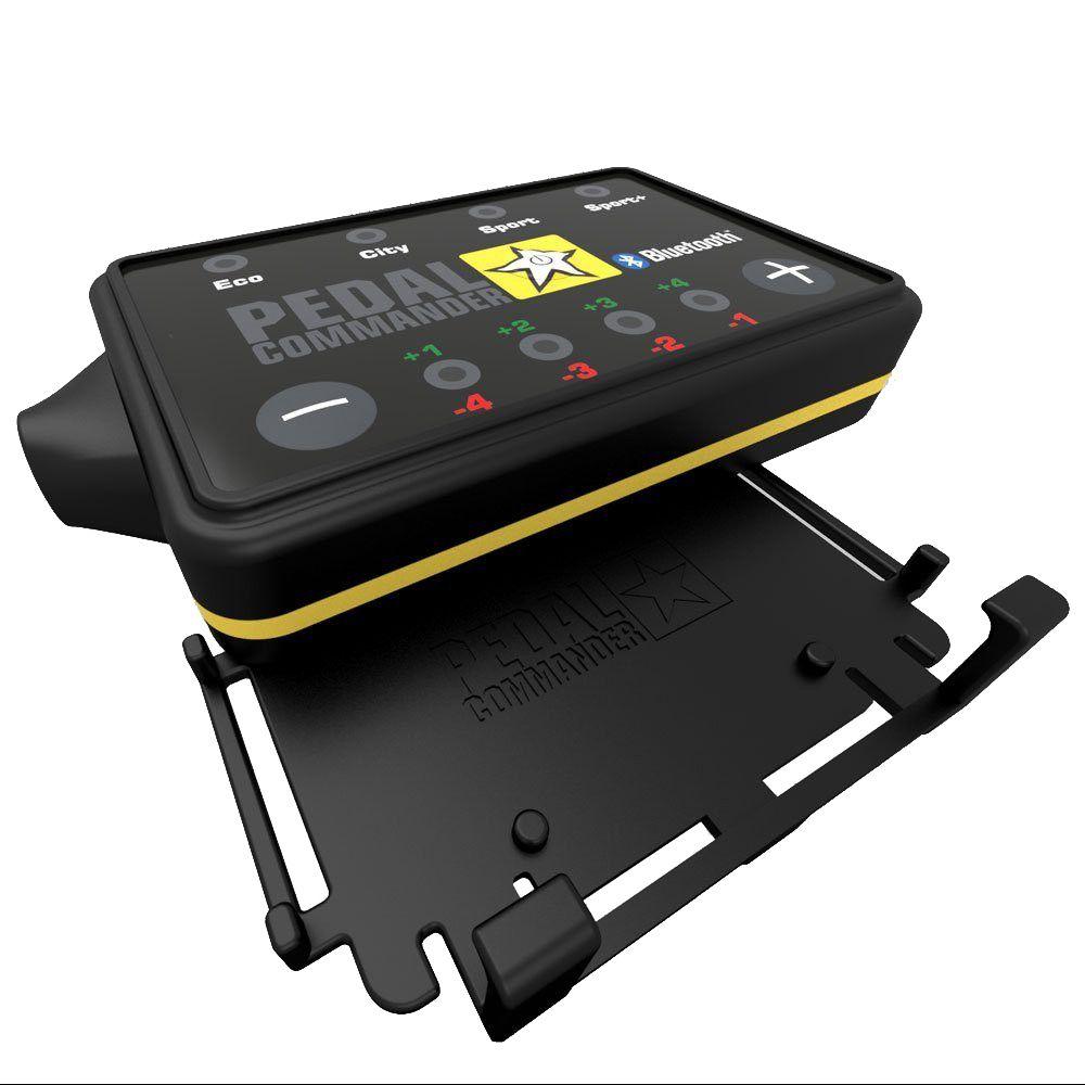 Pedal Commander Bluetooth Throttle Response Controller PC75-BT For 2016+ Cadillac XT5 - Pedal commander & bracket