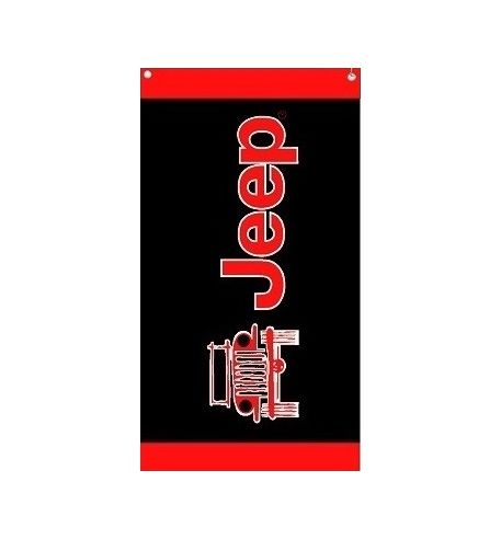 Seat Armour Black And Red Towel 2 GO Seat Cover with Jeep Wrangler Logo T2G100BLK