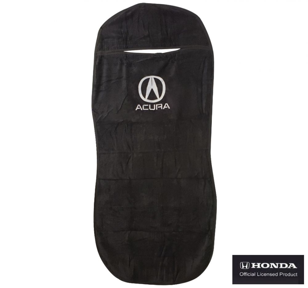 Seat Armour ® - Black Towel Seat Cover with Acura Logo (SA100ACUB)
