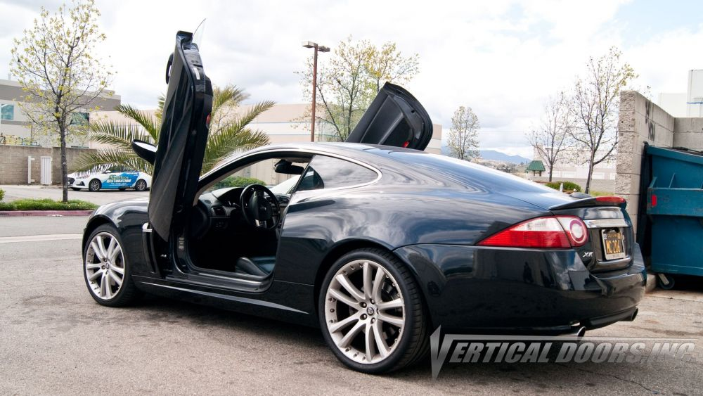 Vertical Doors - Vertical Lambo Door Kit For Jaguar XK 2007-2014 (VDCJAGXK0714)