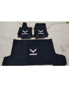 Lloyd Mats Ultimat Ebony 3PC Floor Mats For Corvette Z06 Convertible, Main