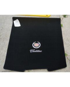 Lloyd Mats Velourtex Black Standard Trunk Mat For Cadillac CTS-V, Logo