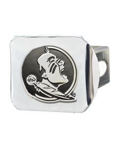 Fanmats ® - Florida State University Chromed Metal Hitch Cover (15085)