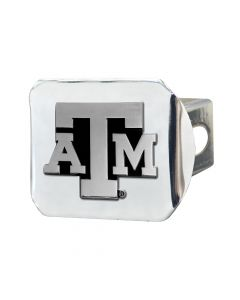 Fanmats ® - Texas A&M University Chromed Metal Hitch Cover (15103)