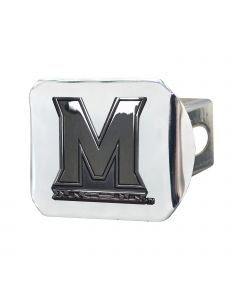 Fanmats University of Maryland Chromed Metal Hitch Cover, The Cover