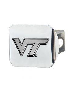 Fanmats ® - Virginia Tech Chromed Metal Hitch Cover (15106)