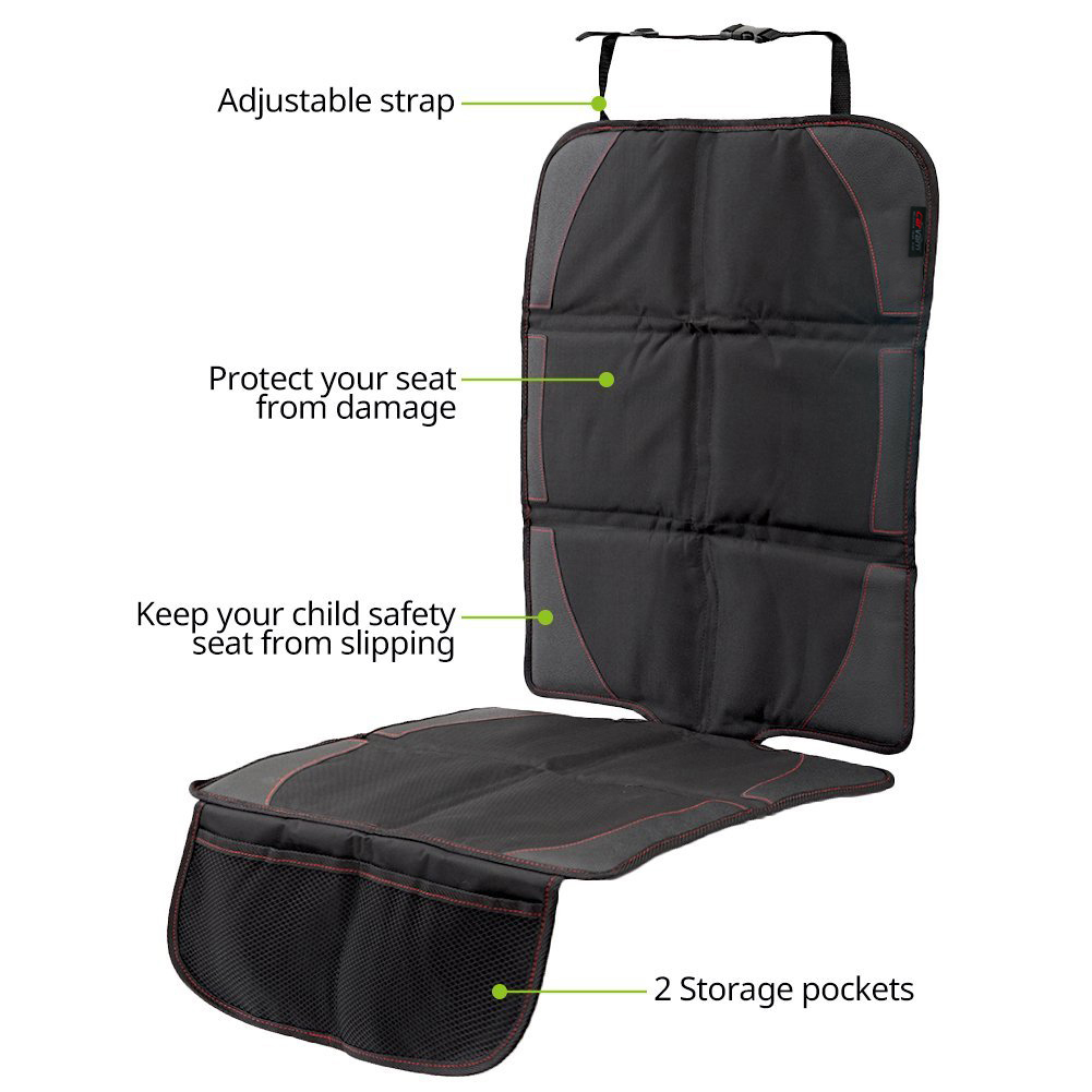 CarVam Black Waterproof Thick Premium Car Seat Protector CVVAMOS